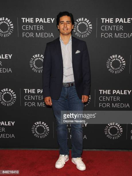 Vice President and General Manager at Story House Entertainment and producer for El Chapo Christian Gabela attends Paley Center Presents an Exclusive...