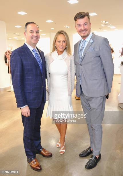 Vice President and General Manager Robert ArnoldKraft Tawny Sanders and Jonathan O'Keefe attend Saks Fifth Avenue Beverly Hills celebration of Vanity...