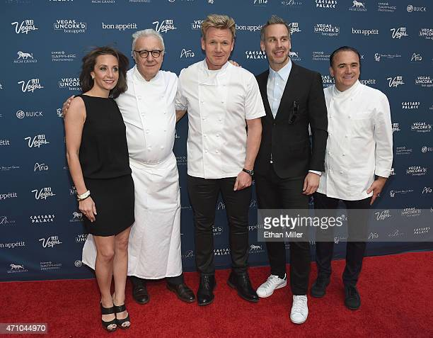 Vice President and Publisher of Bon Appetit magazine Pamela Drucker Mann chefs Alain Ducasse and Gordon Ramsay Bon Appetit magazine EditorinChief...