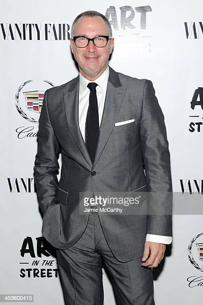 Vice President and Publisher of Vanity Fair Edward Menicheschi attends Vanity Fair And Cadillac Toast The Artists Of Wynwood Walls at Wynwood Kitchen...