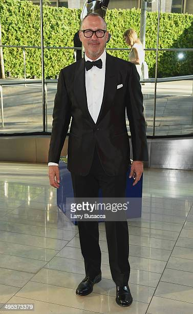Vice President and Publisher of Vanity Fair Edward Menicheschi attends the 2014 CFDA fashion awards at Alice Tully Hall Lincoln Center on June 2 2014...