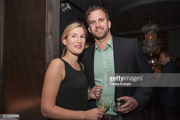 Vice President at SKDKnickerbocker Olivia Alair and guest attend The Evening Before a preWhite House Correspondents' Dinner party hosted by Eric...