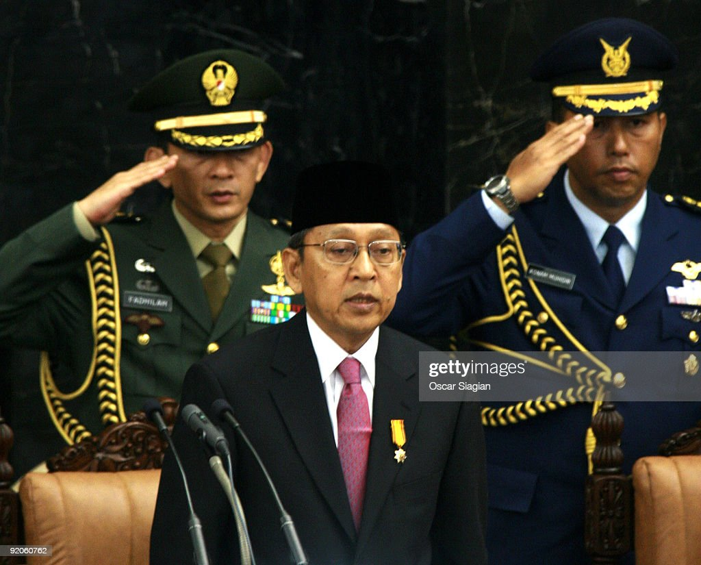 Inauguration Of President Yudhoyono Takes Place In Indonesia