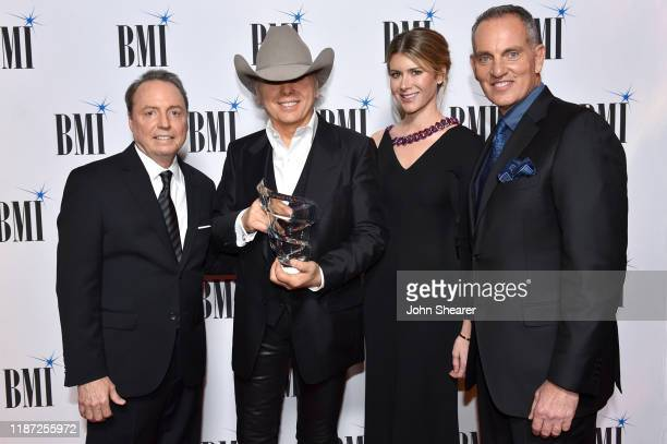 BMI Vice President Creative Jody Williams Dwight Yoakam and Emily Joyce and BMI President/CEO Mike O'Neill attend as BMI presents Dwight Yoakam with...