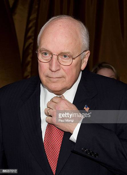 Vice President Dick Cheney attends salute to Brit Hume at Cafe Milano on January 8, 2009 in Washington, DC.