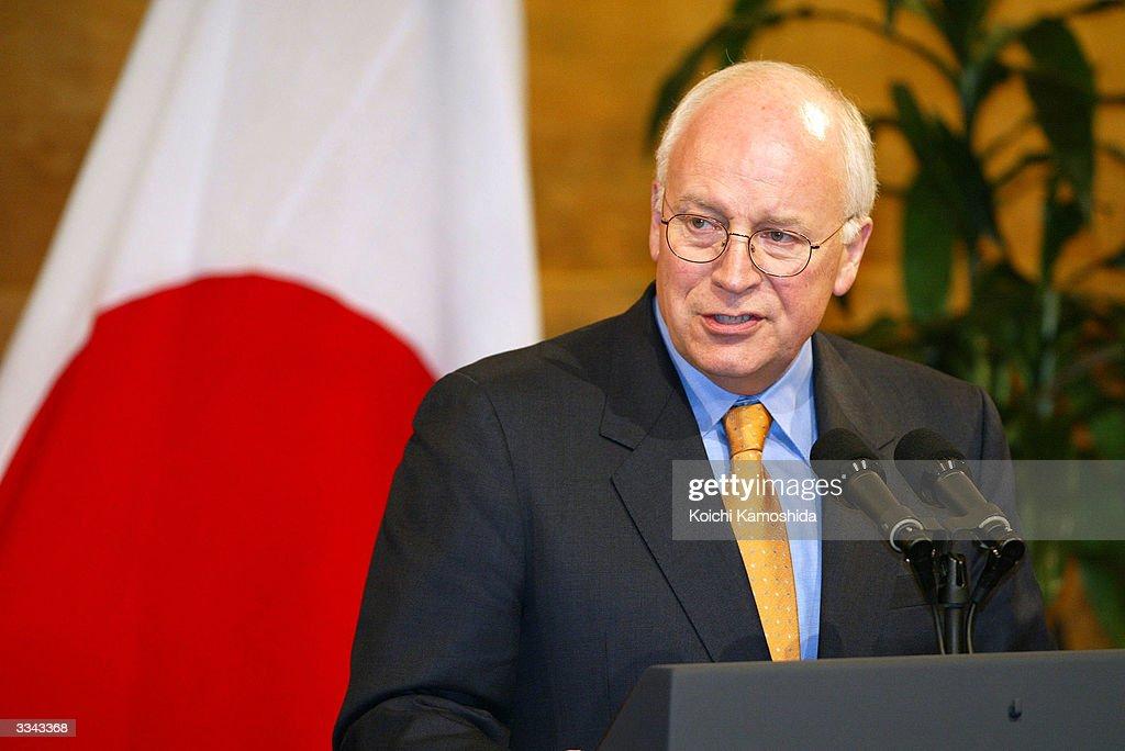 Cheney dick in japan