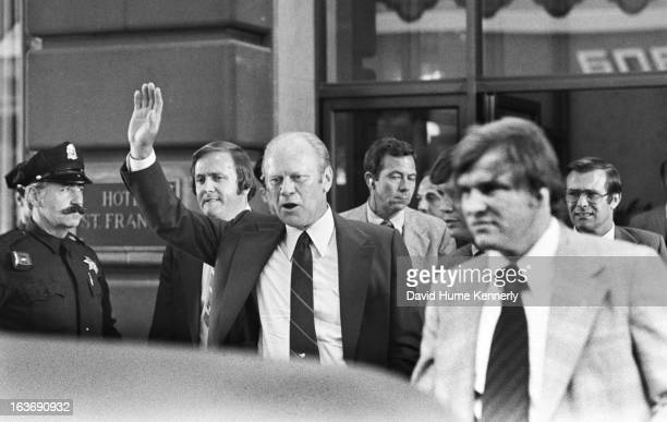 Vice President Dick Cheney photographed from 1975 to 2006 in Washington DC Pictured is President Gerald Ford