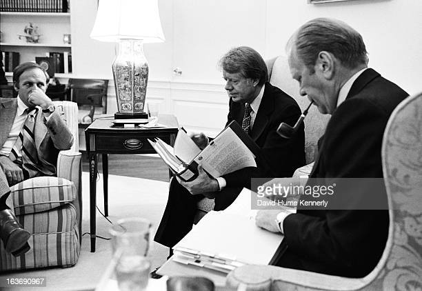 Vice President Dick Cheney photographed from 1975 to 2006 in Washington DC Pictured lr Dick Cheney Presidents Jimmy Carter and Gerald Ford