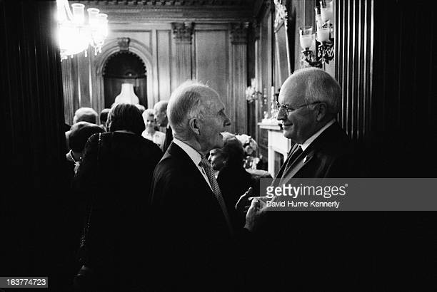 Vice President Dick Cheney photographed from 1975 to 2006 in Washington DC Pictured Vice President Dick Cheney at the Gerald R Ford Foundation Dinner...