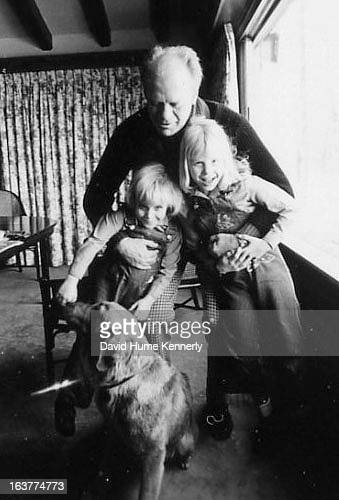 Vice President Dick Cheney photographed from 1975 to 2006 in Washington DC Pictured President Gerald Ford holding the Cheney daughters