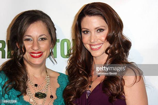 Vice President Earth Friendly Products Kelly VlahakisHanks and actress Shannon Elizabeth attend the Gabby Awards weekend welcome party for theatrical...