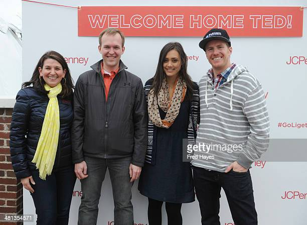 Vice President Events Marketing and Publicity at JCPenney Laura Sandall Salt Lake County Mayor Ben McAdams recording artist Dia Frampton and Olympic...