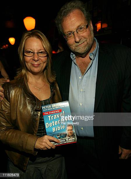 Vice President Executive Editor of Modern Times/Rodale Leigh Haber and Author Peter Greenberg attend the Men's Health/Best Life Launch of The Travel...
