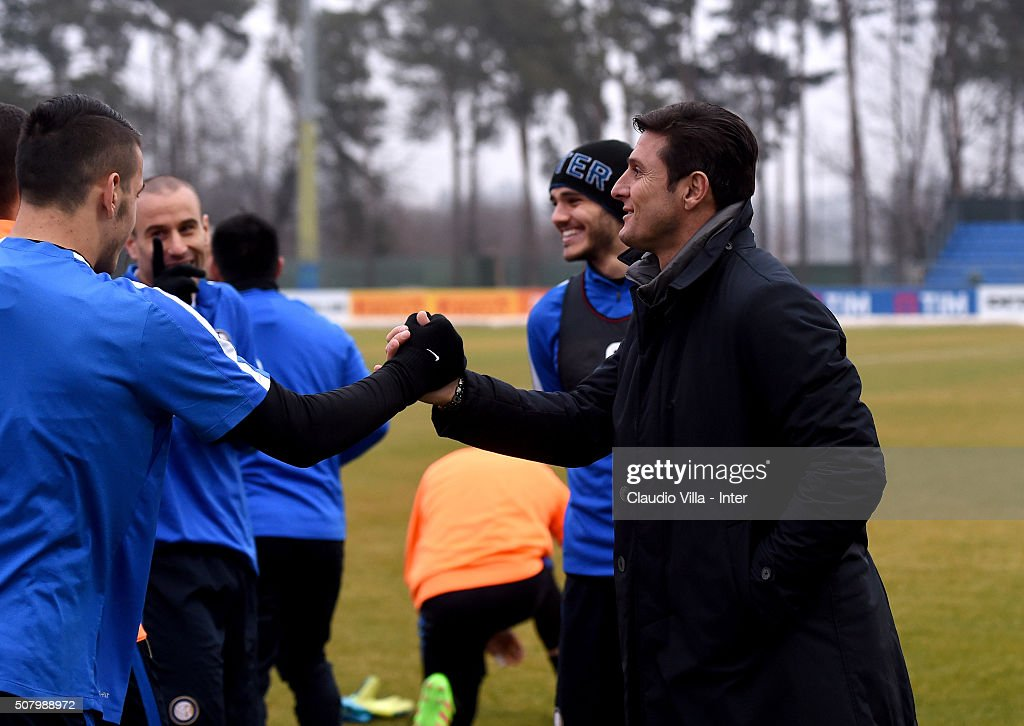 FC Internazionale Training Session : News Photo