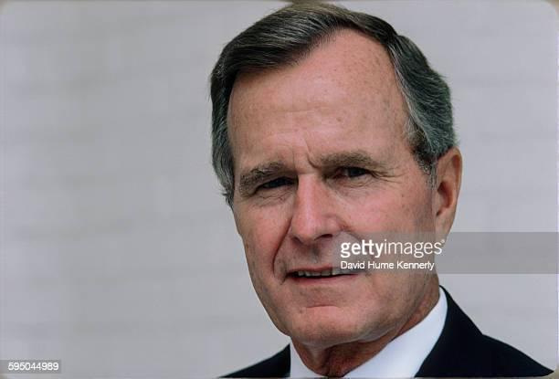 S Vice President George HW Bush circa 1986 in in Washington DC