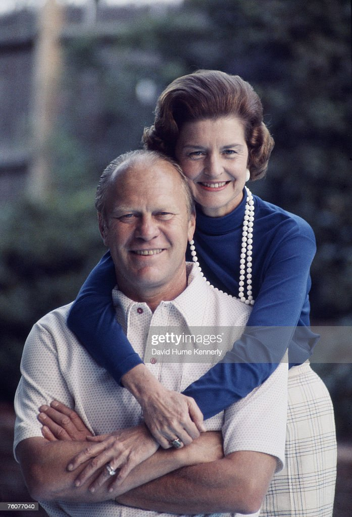 Gerald Ford and wife Betty : News Photo