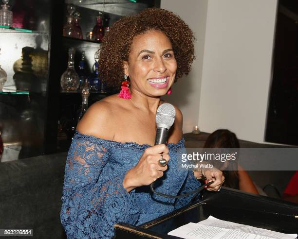 Vice President Inner City Broadcasting Keisha SuttonJames attends the 'Kicked it in Heels' Cancer Fundraiser at Beautique on October 18 2017 in New...