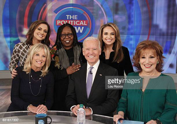 THE VIEW Vice President Joe Biden and his wife Dr Jill Biden make their first joint appearance on Walt Disney Television via Getty Imagess The View...