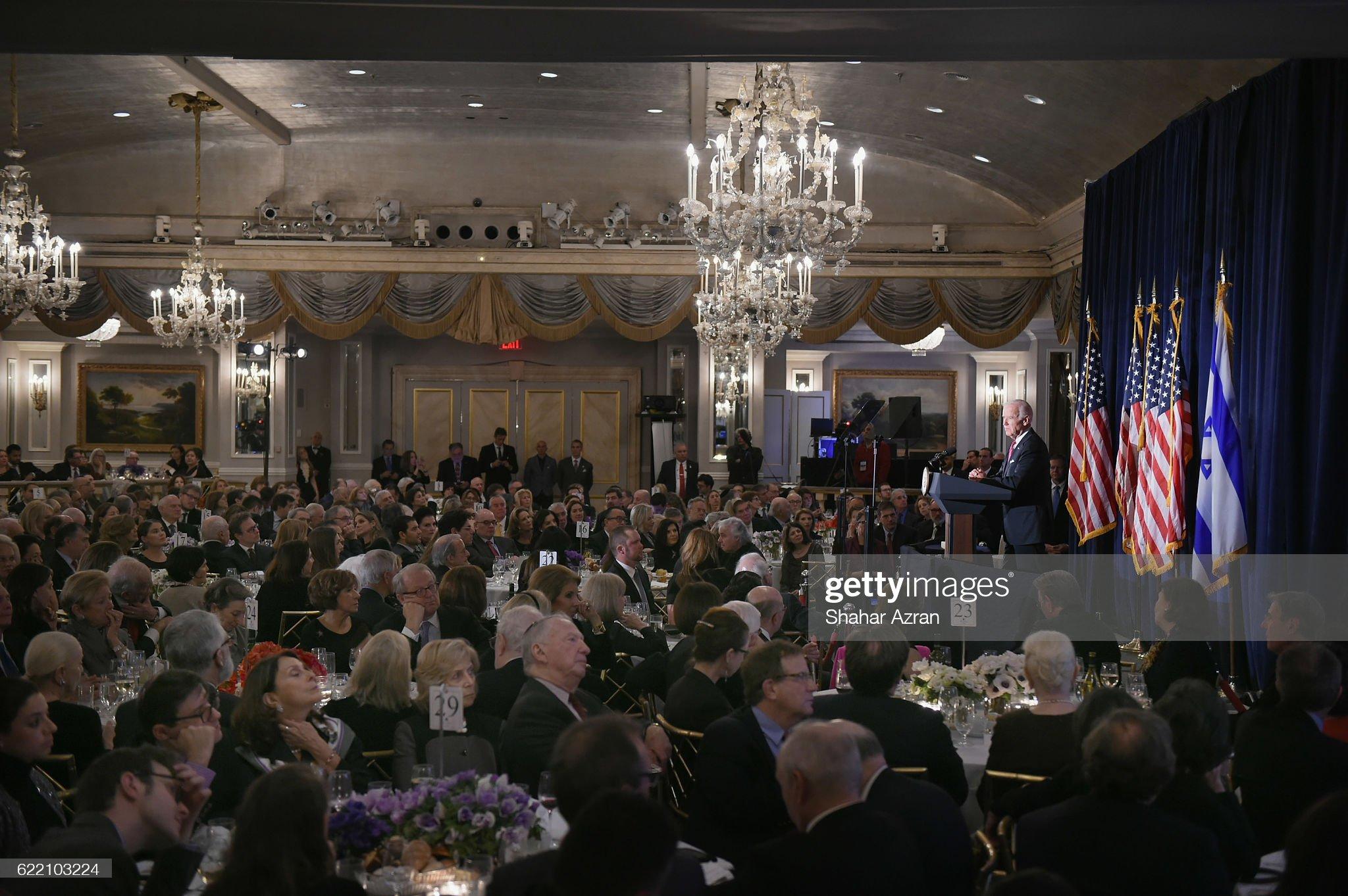 2016 World Jewish Congress Herzl Award Dinner : News Photo