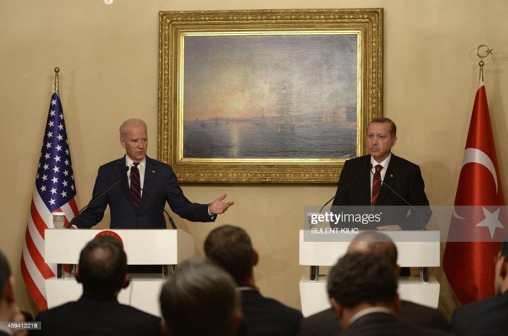 TURKEY-US-SYRIA-CONFLICT-DIPLOMACY : News Photo