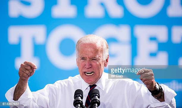 Vice President Joe Biden holds a rally with Catherine Cortez Masto Democratic candidate for US Senate from Nevada at the Culinary Worker's Union...