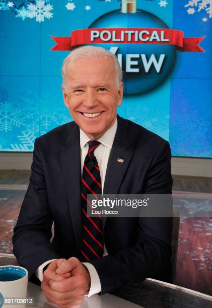 THE VIEW Vice President Joe Biden is a guest on The View Wednesday December 13 2017 airing on the Walt Disney Television via Getty Images Television...