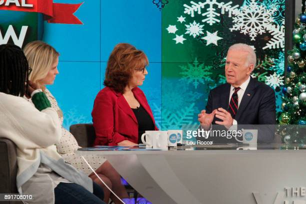 THE VIEW Vice President Joe Biden is a guest on 'The View' Wednesday December 13 2017 airing on the ABC Television Network BIDEN