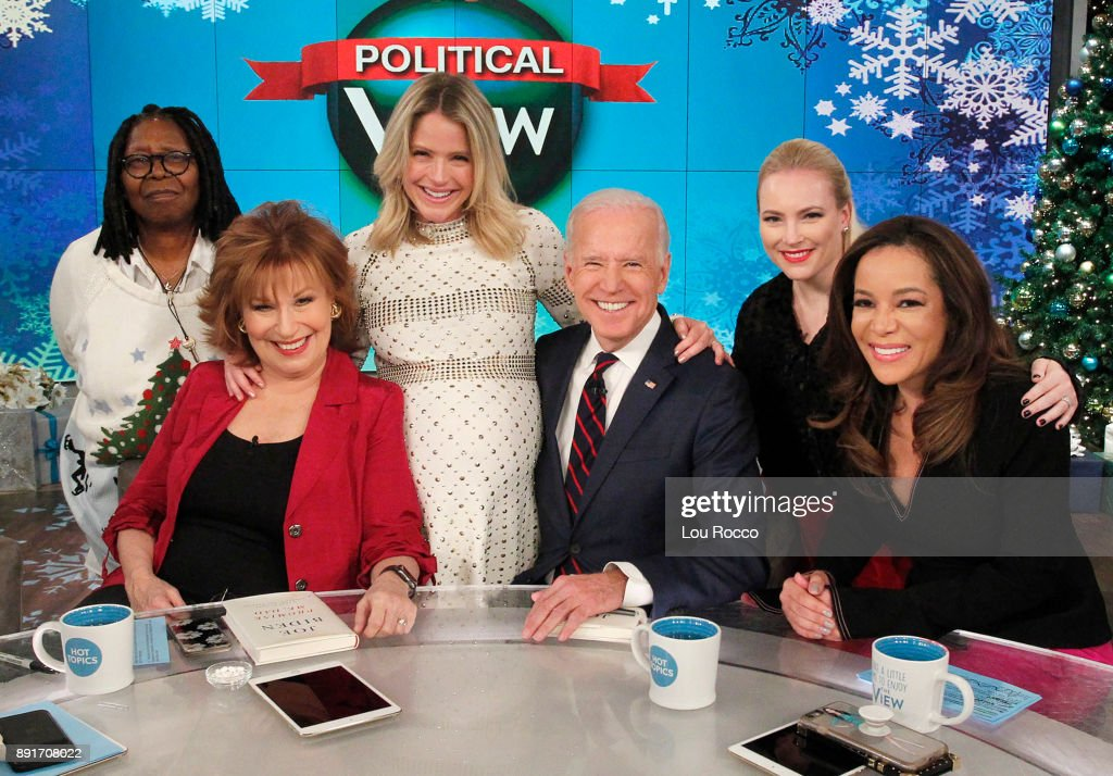THE VIEW - Vice President Joe Biden is a guest on 'The View,' Wednesday, December 13, 2017 airing on the ABC Television Network. HOSTIN