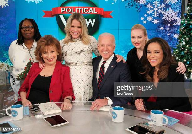 THE VIEW Vice President Joe Biden is a guest on 'The View' Wednesday December 13 2017 airing on the ABC Television Network HOSTIN