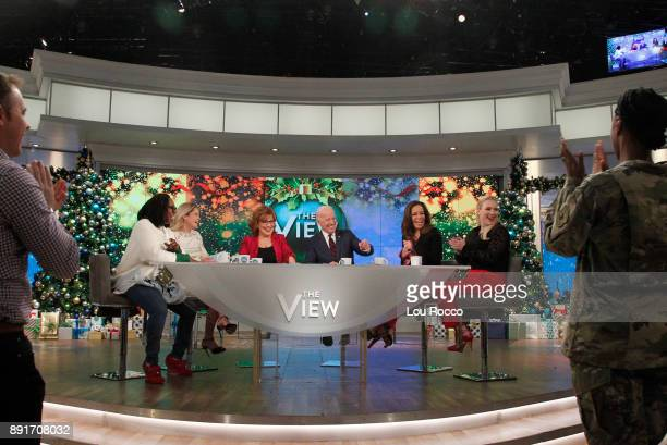 THE VIEW Vice President Joe Biden is a guest on 'The View' Wednesday December 13 2017 airing on the ABC Television Network MCCAIN