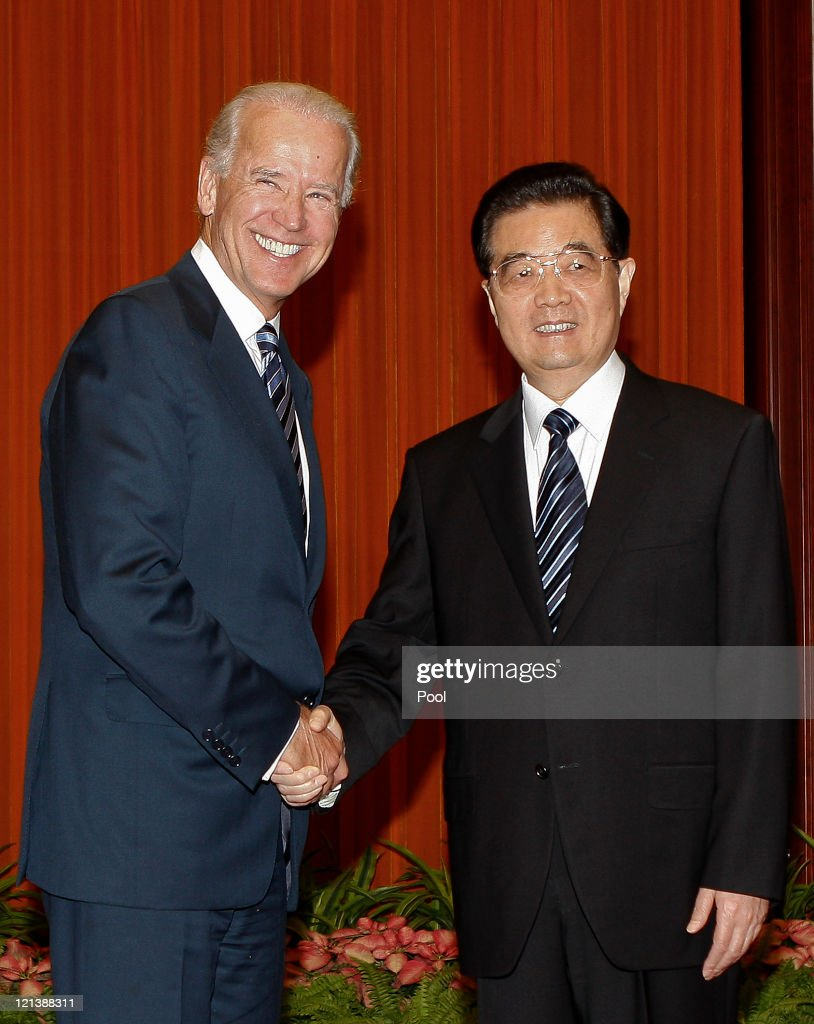 U.S. Vice President Joe Biden Attends Sino-U.S.Business Seminar
