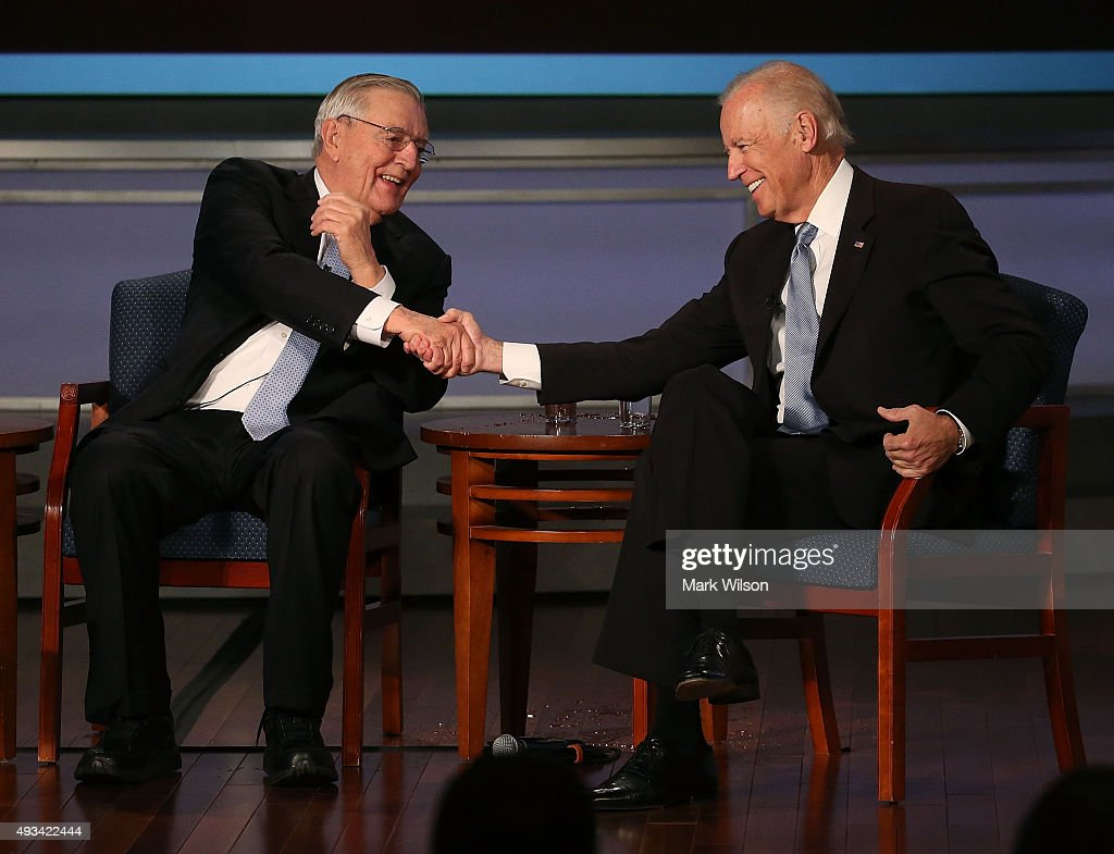 Vice President Biden Attends Tribute To Walter Mondale At George Washington University : ニュース写真