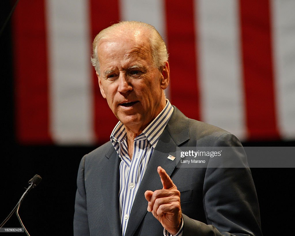Grassroots Event With Vice President Biden : News Photo