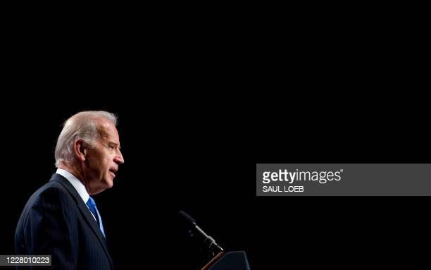 Vice President Joe Biden speaks at the American Israel Public Affairs Committees annual policy conference at the Walter E. Washington Convention...