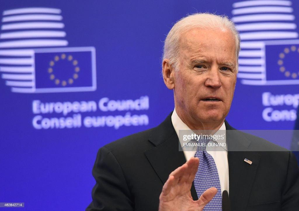BELGIUM-EU-US-DIPLOMACY : News Photo