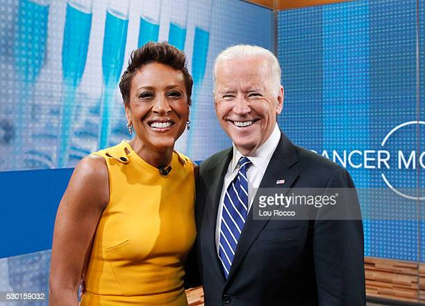 AMERICA Vice President Joe Biden talks with Robin Roberts about leading the National Cancer Moonshot initiative a unified effort to cure the disease...