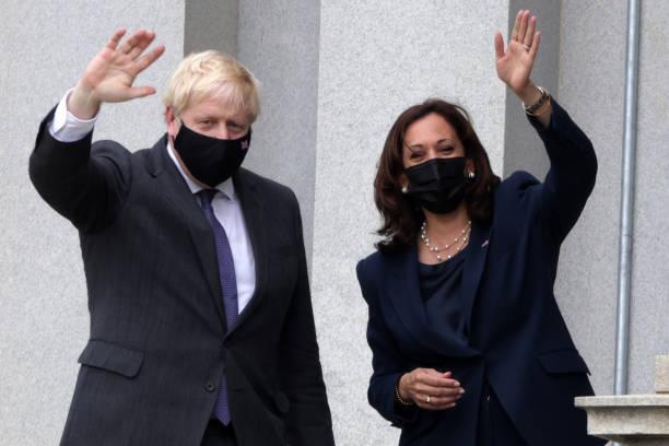 DC: British PM Boris Johnson Visits Washington D.C.