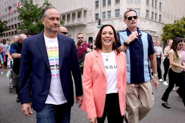 DC: Vice President Harris Joins Pride Parade In Washington, DC