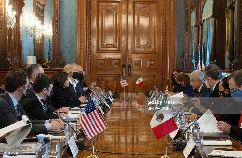 MEXICO-US-DIPLOMACY-MIGRATION : News Photo