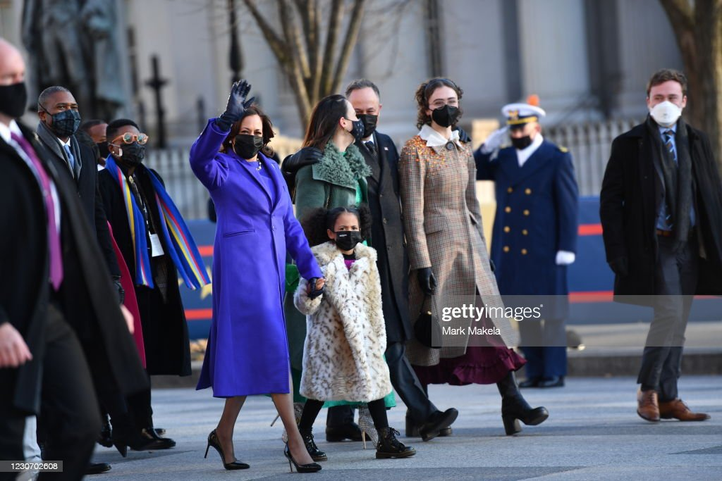 Joe Biden's Inauguration As 46th President Of The U.S. Is Celebrated With Parade In Washington, D.C. : News Photo