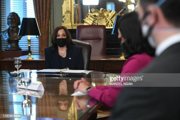 DC: Vice President Harris Meets With Congressional Asian Pacific American Caucus
