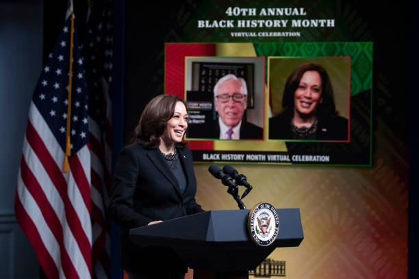 DC: Vice President Harris Participates In 40th Annual Black History Month Virtual Celebration