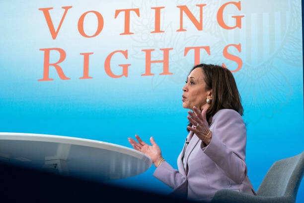 DC: Vice President Harris Holds Listening Session With Advocates On Voting Rights