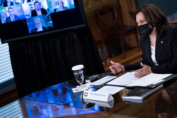 DC: Vice President Harris Holds Virtual Meeting With National Security Experts