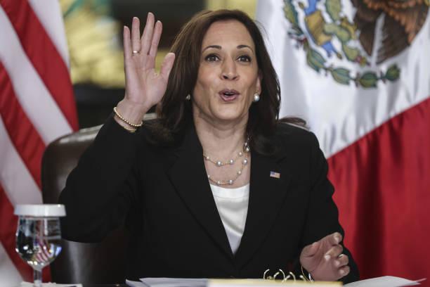 DC: Vice President Harris Meets Virtually With Mexican President Obrador