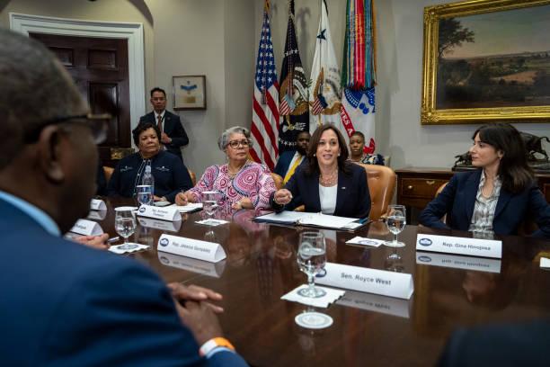 DC: Vice President Harris Meets With Democratic Members Of Texas Legislature