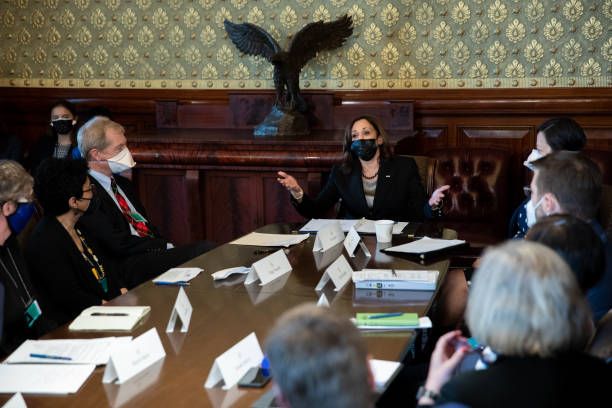 DC: Vice President Harris Visits Climate Leaders Meeting