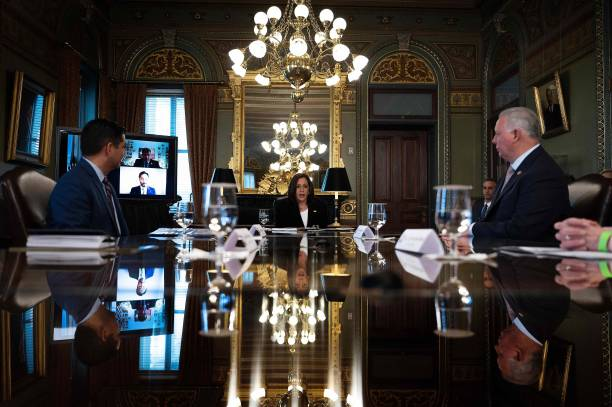 DC: Vice President Harris Meets With Congressional Hispanic Caucus