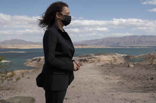 NV: Vice President Kamala Harris Visits Lake Mead