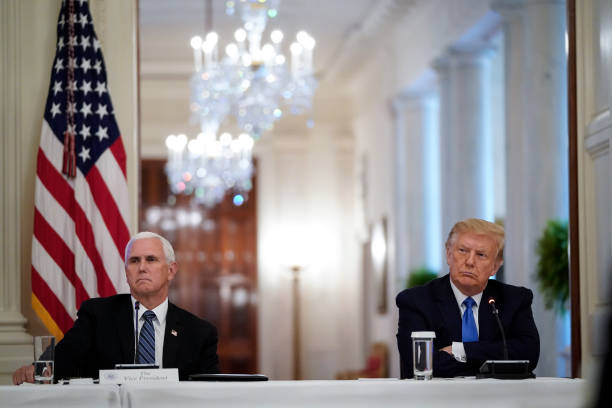 DC: President Trump Participates In Roundtable Discussion On Law Enforcement